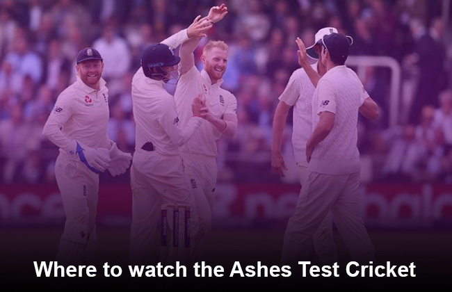 Ashes where to watch test cricket