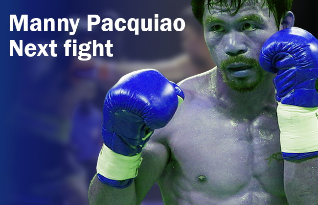 Manny Pacquiao next fight