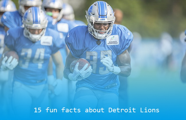 15 fun facts about Detroit Lions